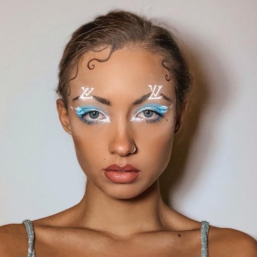 Designer Makeup trend Louis Vuitton James Charles
