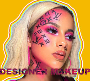 Designer Logo Makeup James Charles Louis Vuitton Trend