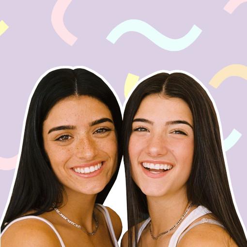 Morphe 2 Charli and Dixie D'Amelio