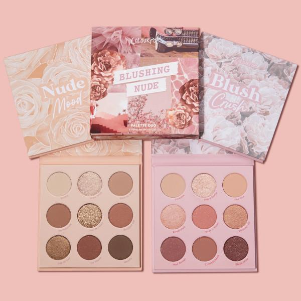 ColourPop Blushing Nude Shadow Palette Vault