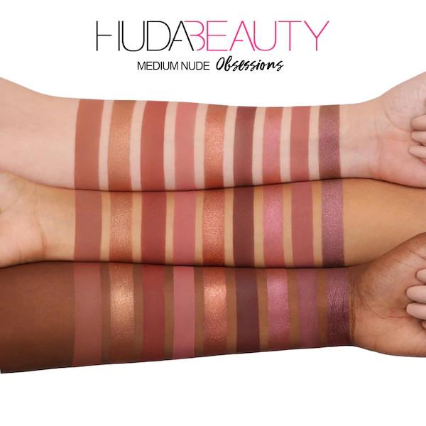 Huda Beauty Medium Nude Obsessions Eyeshadow Palette