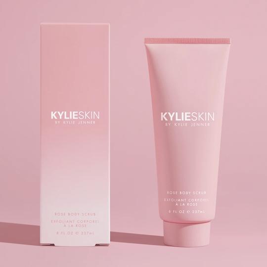 Kylie Skin Rose Body Scrub