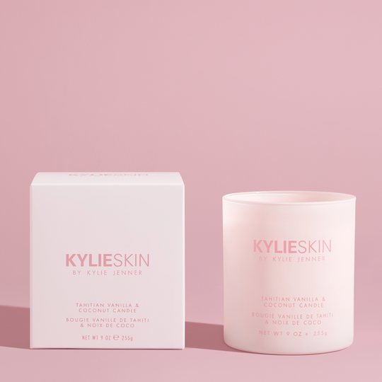 Kylie Skin Tahitian Vanilla Coconut Candle