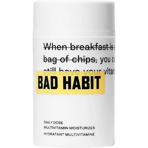 Bad Habit Daily Does Multivitamin Moisturizer