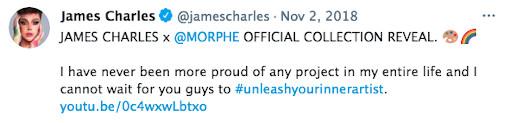 Morphe James Charles