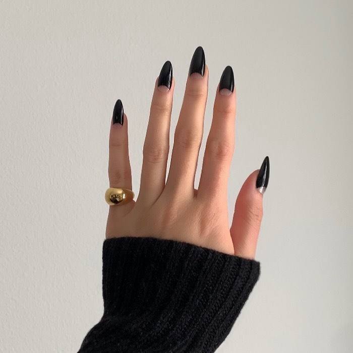 black French tips