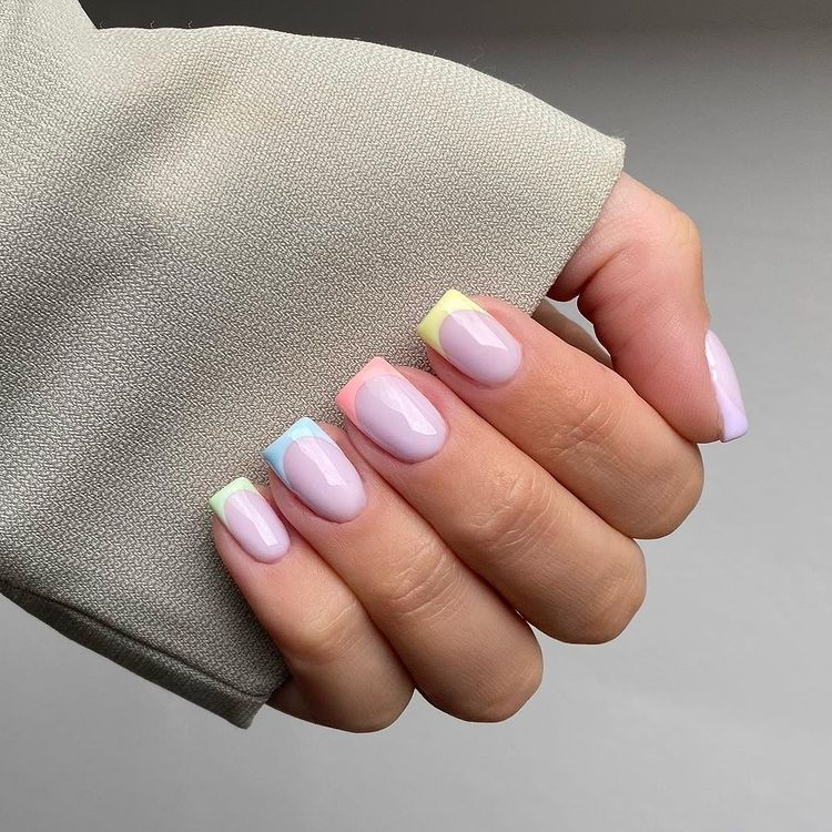 Pastel French Tip