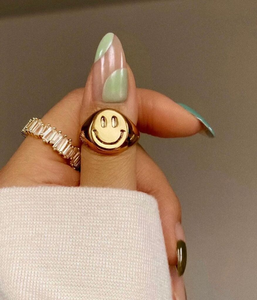 Sage Green Nails