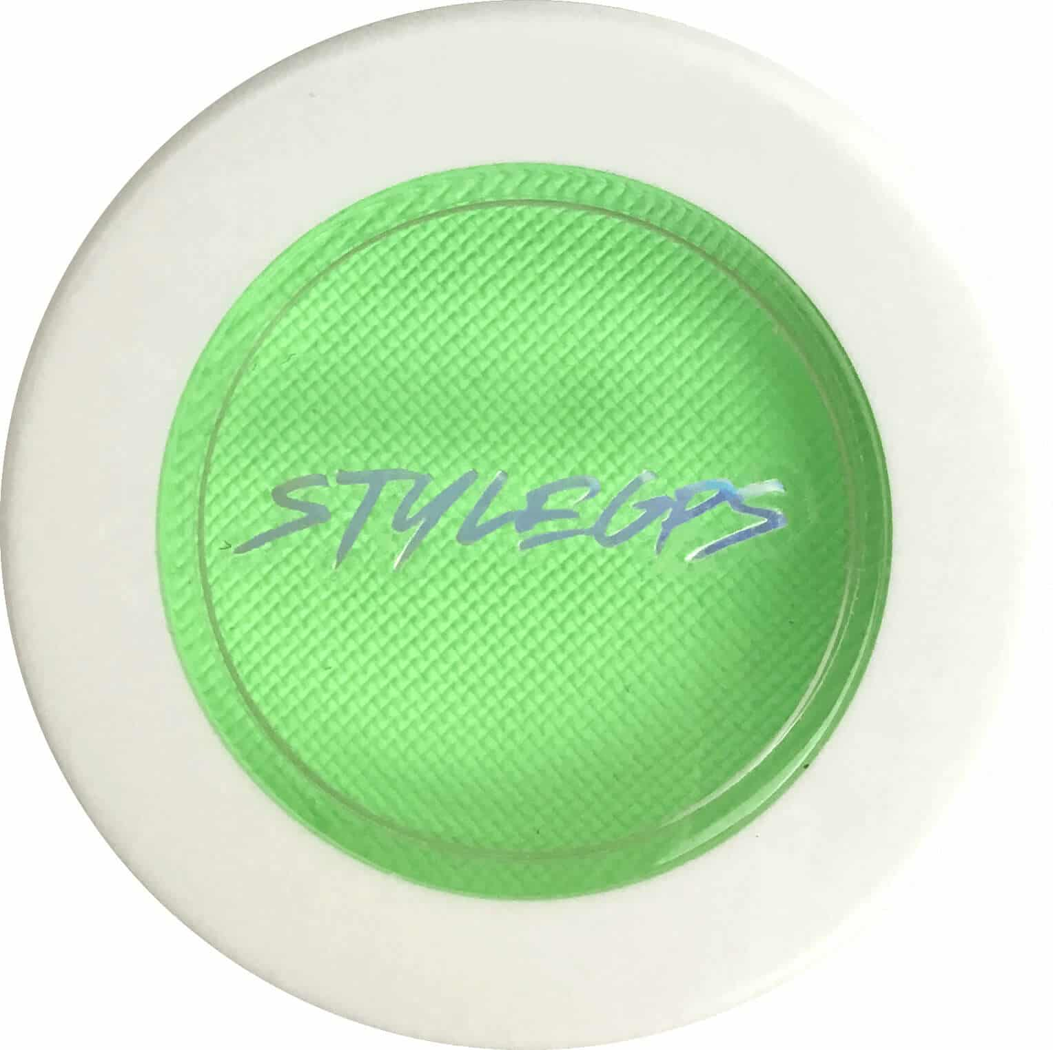 StyleGPS Neon Green Glow Trip Liner. The Neon Green Glow Trip Liner is a bright green color The color liner is a water-activated UV eyeliner. This colored eyeliner is a green eyeliner. This pink eye makeup is designed to help you create green eyeliner looks. or green eye makeup looks